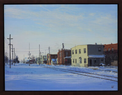 Jeff Gola, 'Railroad Ave', 2018