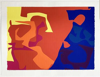 Patrick Heron, 'January 1973 - plate 5', 1973