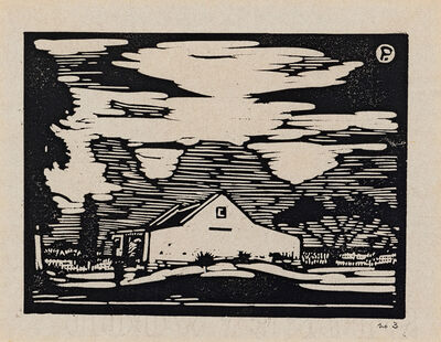 Jacob Hendrik Pierneef, 'Plaashuis, Onderstepoort (Nilant 45)'