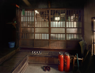 "Yutaka Takanashi, 'Hongo: Hongokan Apartment, 6-20-3 Hongo, Bunkyo-ku, from the series ""Machi""', 1977"