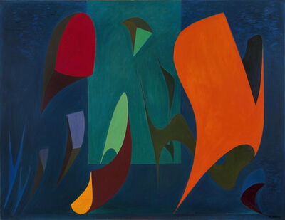 Lorser Feitelson, 'Magical Forms, 1945', 1945