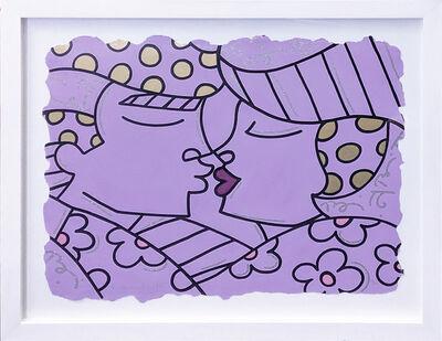 Romero Britto, 'YOU ARE SO WONDERFUL (PURPLE)', 2001