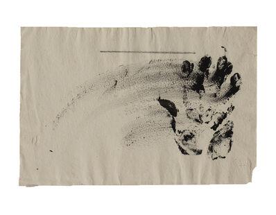 Antoni Tàpies, 'Projecte num 4', 1994