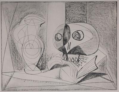 Pablo Picasso, 'Composition Au Crane (Skull Composition), 1949 Limited edition Lithogrph by Pablo Picasso', 1949
