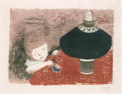 Pierre Bonnard, 'L'Enfant À La Lampe (Roger-Marx 43; Bouvet 43)'