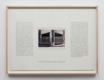 Brian O'Doherty, 'Plato's Cave', 1968