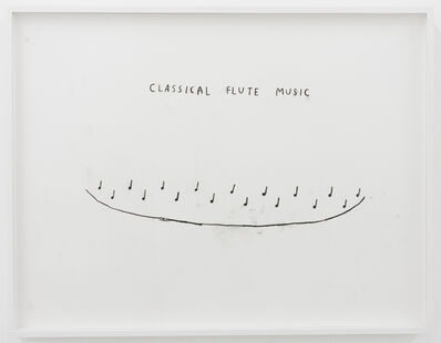 Christine Sun Kim, 'Classical Flute Music', 2016