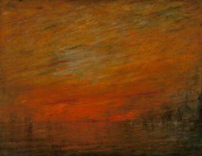 William Gedney Bunce, 'Venice Shimmer', 1912
