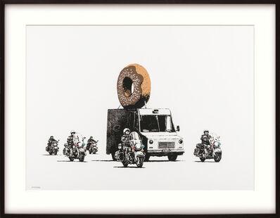 Banksy, 'Chocolate Donut.', 2009