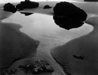 Brett Weston, 'Tidepool, California', 1961