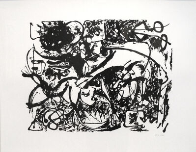 Jackson Pollock, 'Untitled, CR1092 (After painting Number 8, CR327)', 1951