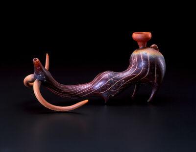 William Morris, 'Animal Pipe', 2000