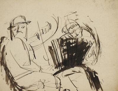 Josef Herman RA, 'Musicians (from 'A Memory of Memories')', 1940-1943