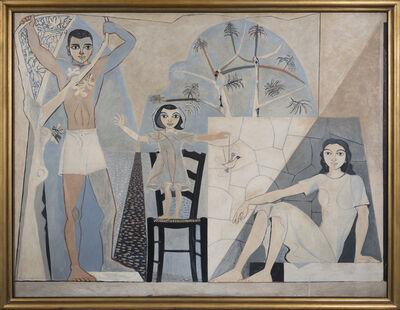 John Craxton, 'Three Figures, Poros', ca. 1950s