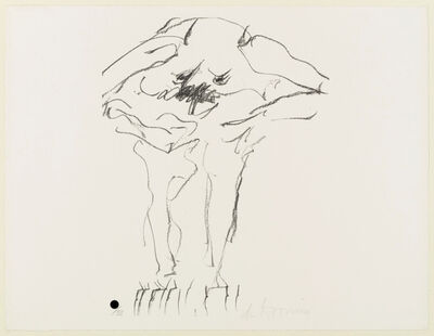 Willem de Kooning, 'Clam Digger from Portfolio 9', 1966; published 1967