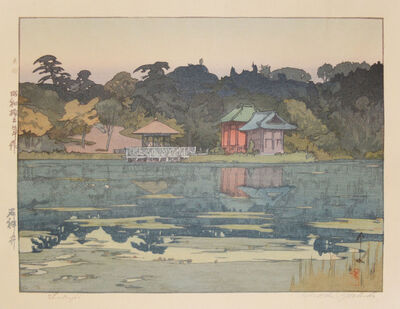 Yoshida Hiroshi, 'Shakujii', 1937