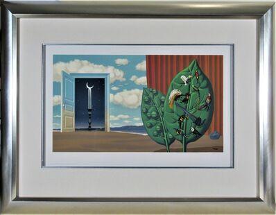 René Magritte, 'Une Porte s'Ouvre sur la Nuit Veloutee, from Les Enfants Trouves.', 1953
