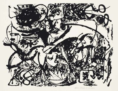 Jackson Pollock, 'Number 8, from Untitled', 1951
