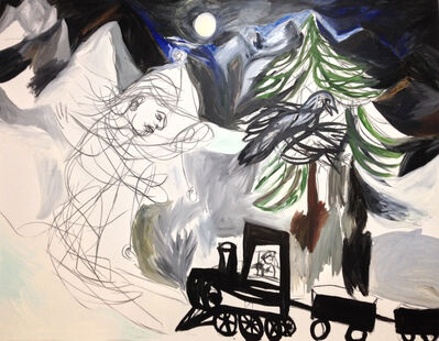 Maria Zerres, 'Moonlite Train', 2006