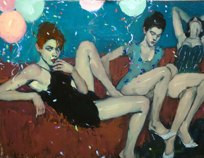 Malcolm T. Liepke, 'Party Girls', 2017