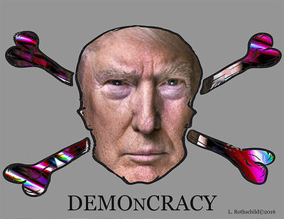 Lawrence Rothschild, 'Demoncracy', 2016