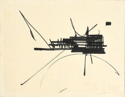 Georges Mathieu, 'Untitled', 1966