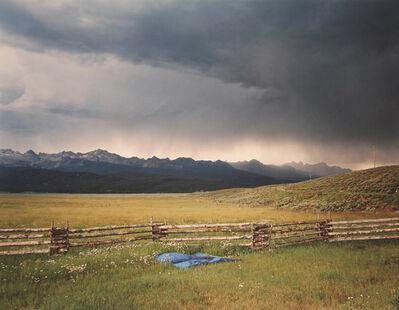 Laura McPhee, 'Irrigator's Tarp Directing Water, Fourth of July Creek Ranch, Custer County, Idaho', 2004