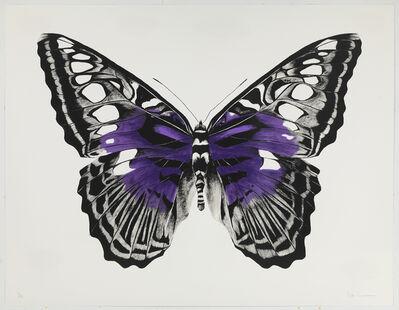Rose Corcoran, 'Butterfly Purple Silkscreen'