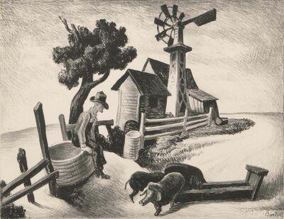 Thomas Hart Benton, 'Homestead', 1938