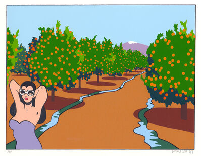 Ken Price, 'Orange Grove', 1981