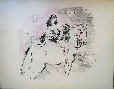 Marcel Vertes, 'Circus Equestrienne', 1940-1949
