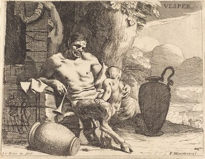 Charles Le Brun, 'Vesper (Evening)', ca. 1640