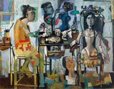 Antoni Clavé, 'Mannequins (The Dollmakers)', 1950