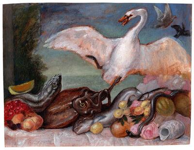 Sam Branton, 'Swan, squid, & lemons', 2020