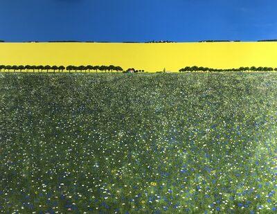 Ronnie Ford, 'Cornflower Meadow', 2018
