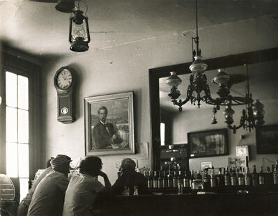 Todd Webb, 'Bar in Genoa, NV', 1955/1955