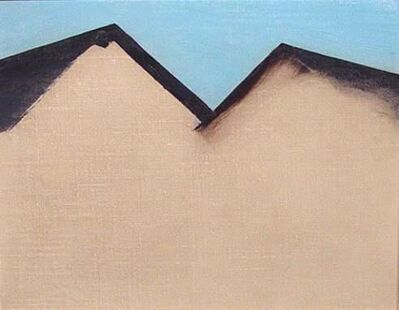Georgia O'Keeffe, 'Untitled (Barn Rooftops)', ca. 1928