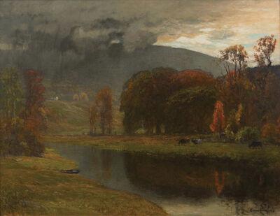 John Joseph Enneking, 'Showers over Blue Hill, Milton, Massachusetts', 1890