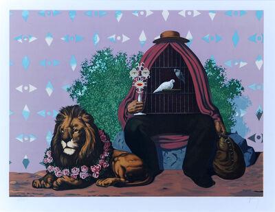 René Magritte, 'Deux Tourterelles, dans la Chaude Pénombre de Leur Maison...', 1968