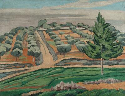 """Alberto Magnelli, '""""The olive tree in Rosia""""', 1922"""