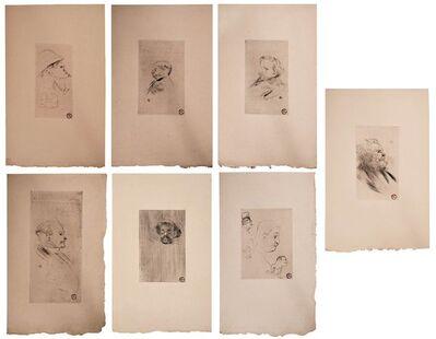 Henri de Toulouse-Lautrec, 'Sept Pointes Sèches', 1911