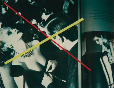 Richard Pettibone, 'Helmut Newton, 'Le temps des joyaux, French Vogue', 1979', 1980