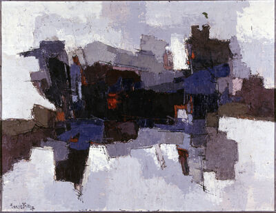 Francis Bott, 'Composition', 1957