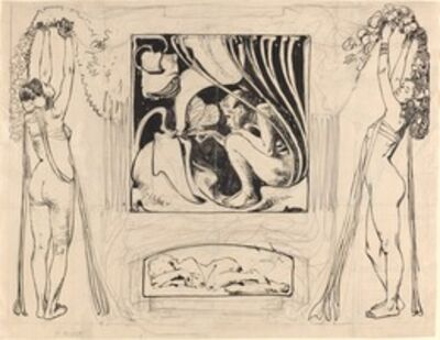 Koloman Moser, 'Allegory of Summer', in or after 1896