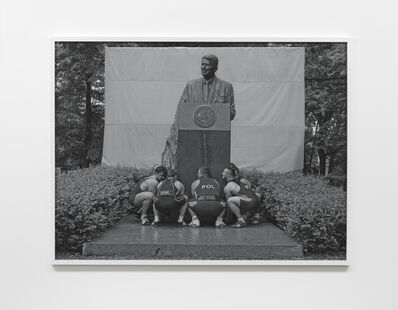 Christian Jankowski, 'Heavy Weight History (Ronald Reagan)', 2013