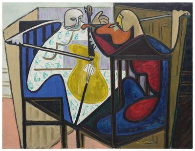 David Park, 'Violin and Cello', 1939