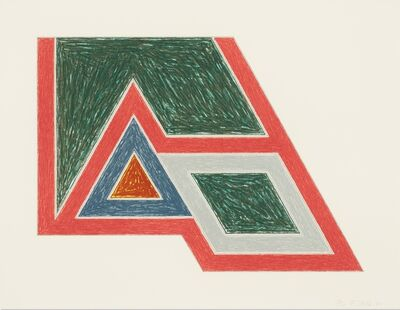 Frank Stella, 'Sanbornville (from the Eccentric Polygons series)', 1974