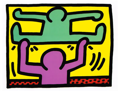 Keith Haring, 'Pop Shop I (D)', 1988