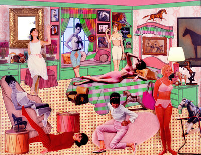 Laurie Simmons, 'The Instant Decorator (Pink and Green Bedroom/Slumber Party)', 2003