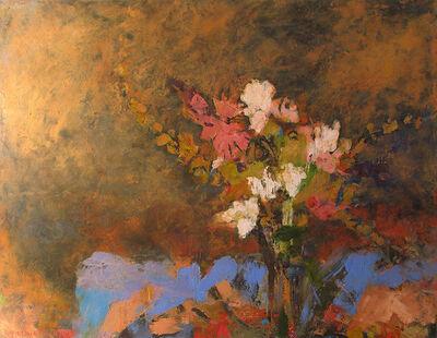 Cynthia Packard, 'Blue Cloth'